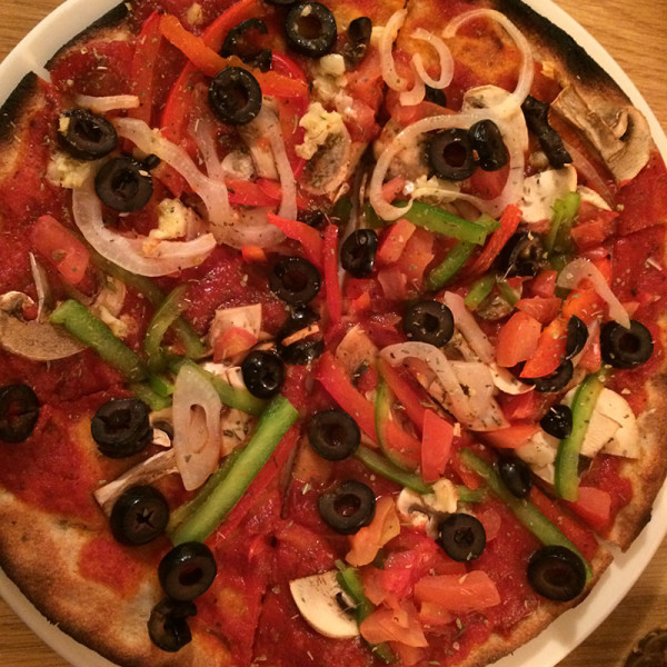 Vegan Pizza(no cheese)